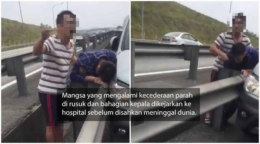 Lelaki Temui Ajal Didakwa Akibat Pergelutan, Salah Faham Selepas Kemalangan meninggal dunia