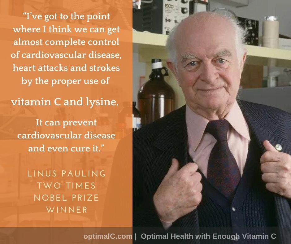 Vitamin C Dan Penyakit Jantung Koronari - Linus Pauling